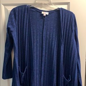 Lularoe long duster size medium